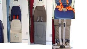 forward crew jump seat in ATR 42-320